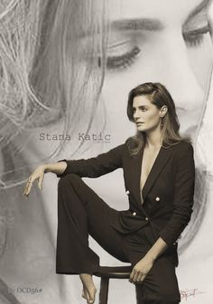 Stana Katic, My Beauty, True Beauty, Castle Series, Richard Castle, Rosamund Pike, Kate Beckett, Great Tv Shows, Elle Magazine
