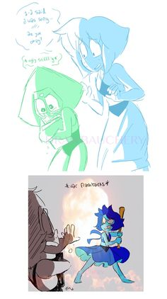 Steven Universe, Lapis and Peridot
