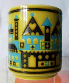 Hornsea Pottery Chateau Mug John Clappison 1976 | eBay