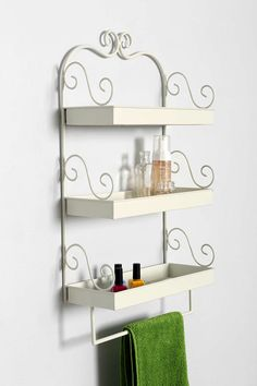 Plum & Bow Triple-Tiered Wall Shelf