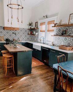 Kitchen Remodel, Kitchen Decor, Interior Design Kitchen, Home Decor, Interior Design Kitchen Small, House Interior, Home Kitchens, Kitchen Renovation, Kitchen Design