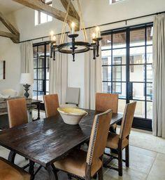 Wohnideen Esszimmer Industrielle Pendelleuchten Beleuchten Den Essbereich |  Esszimmer   Esstisch Mit Stühlen   Esstisch   Speisezimmer | Pinterest