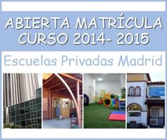 Abierta Matricula Curso 2014 - 2015.