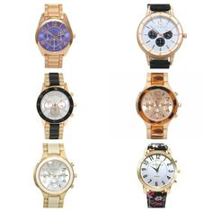 ⚪RELOJES NUEVA COLECCIÓN⚪ www.deplanoodetacon.com #deplanoodetacon #tiendaonline #relojes #bisutería #accesorios #moda