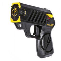 Taser Pulse Flashlight Tazer Rechargeable Stun Gun Flashlights Personal Security