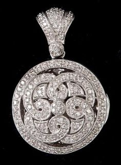 Celtic Diamond Locket  BEFORE I FORGET  PRE CHRISTMAS DAY PRESENT FOR  EVERY LADY WITH MUCH THANKS AND LOVE
