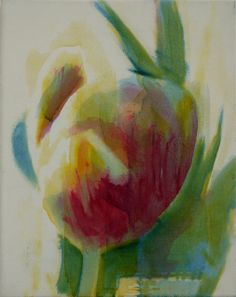 Tulips #10 oil on canvas 23x30cm