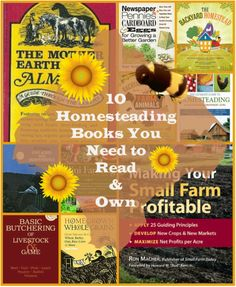 10 Homesteading Books You Need to Read and Own - T.B.Cooper
