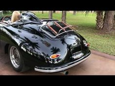 SOLD 1956 Porsche 356 Speedster powered by a Subaru turbo charged engine - www.AutohausNaples.com - YouTube