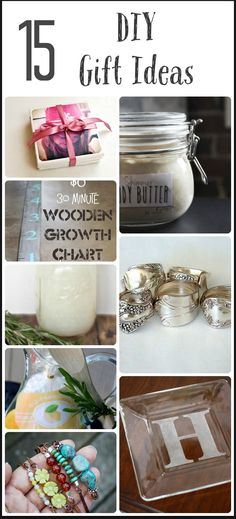 Unique DIY Gift Ideas.  REPIN on your board, or CLICK to search hundreds of other tutorials and DIY projects!