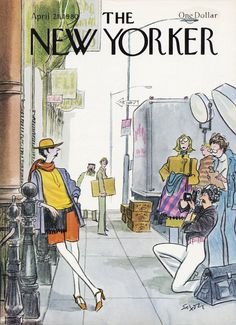 The New Yorker - Monday, April 21, 1980 - Issue # 2879 - Vol. 56 - N° 9 - Cover by : Charles Saxon