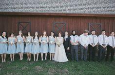 Barn wedding in Texas
