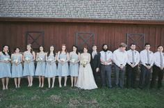 Barn wedding in Texas