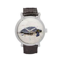 Sea Turtle Vintage Watch