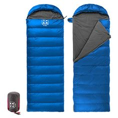 Naturehike Camping Sleeping Bag Outdoor Envelope Down Sleeping Bag Eiderdown Sleeping Bag Light blue -- You can find out more details at the link of the image.