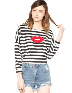 Pixie Market French Kiss Top $42