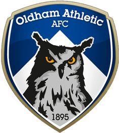 Oldham Athletic AFC crest(emblem)