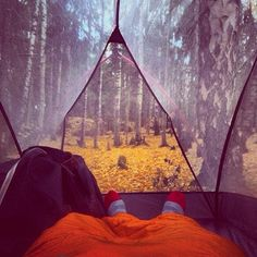 A little Fall Camping