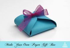 Cajitas para regalos / Paper gift box