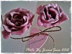Sain aikoinaan lahjaksi viikonloppuvierailta kauniit sytykeruusut. Ne ovat niin kauniita, etten ole vielä tänäkäään päivänä raaskinut niitä... Stone Cactus, Pine Cones, Wraps, Rose, Floral, Flowers, Plants, Pink, Plant