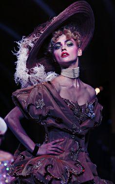 Dior Haute Couture FW07.John Galliano♛ ♛~✿Ophelia Ryan ✿~♛