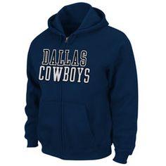 Dallas Cowboys Navy Lancaster Full Zip Hooded Sweatshirt $59.99 http://www.fansedge.com/Dallas-Cowboys-Team-Pride-Table-Fleece-Full-Zip-Hooded-Sweatshirt-_-2034448146_PD.html?social=pinterest_pfid10-01665