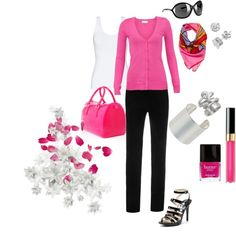 Pretty In Pink, created by michelled2711 on Polyvore