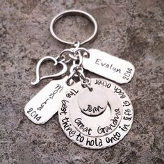 Hey, I found this really awesome Etsy listing at https://www.etsy.com/listing/202568925/hand-stamped-keychain-personalized-key