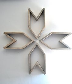 Arrow Shelf Set of 3 by The807 on Etsy
