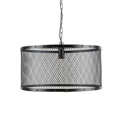 metal wire industrial pendant lamp in black D Industrial Pendant Lights, Pendant Lamp, Industrial Style, Pendant Lighting, Dining Room Bench Seating, Sun Lounger Cushions, Sideboard Furniture, Suspension Design, Lantern Candle Holders