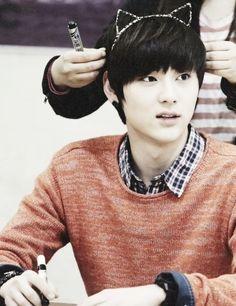 Minhyun  My cute Nu'est bias <3