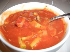 My Weight Watcher Killer Soup - 2 Points plus per serving. 5 star rating