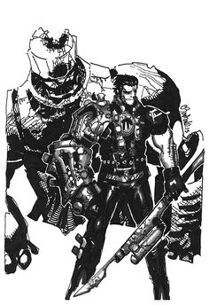 Blaquesmith by Chris Bachalo