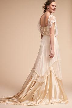 BHLDN Lita Gown Ivory in Bride | BHLDN