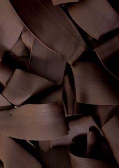 Color Chocolate - Chocolate!!! dark chocolate shavings