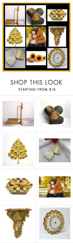 """Lovely gifts"" by inspiredbyten ❤ liked on Polyvore featuring Christopher Radko and vintage"