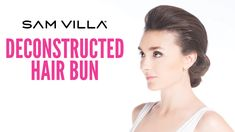 Braids, Ponytails & Updo's Archives - Page 4 - Sam Villa Consumers Bun Hairstyles, Pretty Hairstyles, Youtube Hair Tutorials, Braided Waves, Ponytail Updo, Deconstruction, Styling Tools, Hair Hacks, Updos