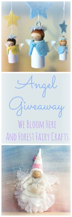 Visit We Bloom Here and Forest Fairy Crafts to enter before December 9, 2013. Happy Holidays!