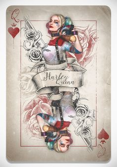 Queen Harley - Created by Laura RaceroPrints available at the Artist's Shop.