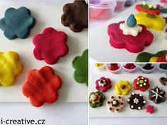 tvoření s domácí modelínou Play Doh, Creative, Play Dough