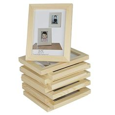 Set of 10 Unfinished Solid Wood Photo Picture Frames 4x6 ... https://www.amazon.com/dp/B01FWN7ZZ2/ref=cm_sw_r_pi_dp_x_30StybPP5QDRY