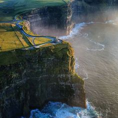 Cliffs of Mohr...beautiful shot.