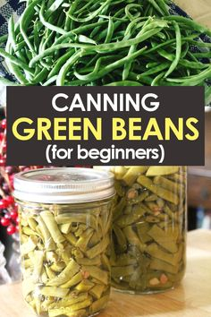 Get the perfect recipe for cold pack (raw pack) canning green beans in a pressur. - Get the perfect recipe for cold pack (raw pack) canning green beans in a pressure canner! Pressure Canning Green Beans, Canning Beans, Pressure Canning Recipes, Home Canning Recipes, Easy Canning, Canning Tips, Cooking Recipes, Canning Green Beans Recipe, Dinner Recipes