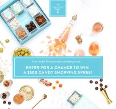#entry #sweeps Enter for a chance to win a $500 candy shopping spree from Sugarfina!