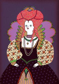 Queen Elizabeth I - Ana Galvañ
