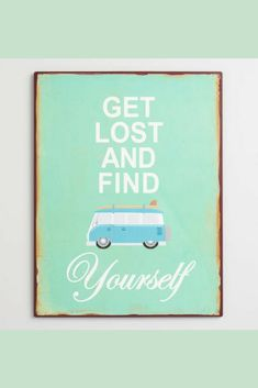 Get Lost and Find Yourself Wanderlust Wall Art   #Ad #Farmhouse #Rustic #ShabbyChic #Wanderlust #Travel #FixerUpper #HomeDecor #KitchenDecor #FarmhouseKitchen #WallDecor #WallArt