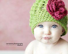 Crochet Hat Pattern Emily Cluster Hat. $4.50, via Etsy.