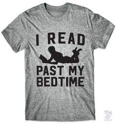 I read past my bedtime!