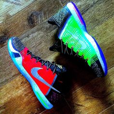 Today is transformation Thursday... And here we have the After of Kobe X What The Kobe. The low version of this might be one of my favorite kobes I own... These look like they were made by Nike to be lows. This transformation was thanks to @bigacustoms give him a look his skills and quality is on point. #chopchop #hightolow #bigskysole  #montanasneakerhead #myids #mynikeids #kobeids #nikeidelite #nikeidgang #HTM #nikefeatures #Kobe #kobe24  #solecollector #soleonfire #nicekicks #walklikeus…