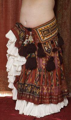 Tribal belt & Skirt - tribe.net
